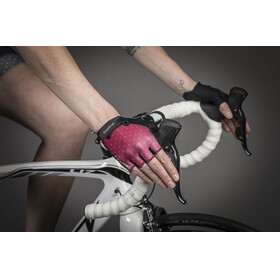 GripGrab Rouleur Short Cycling Gloves Women Purple